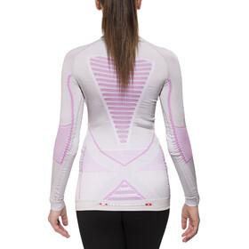 X-Bionic Radiactor Evo - Sous-vêtement Femme - L/S rose/blanc
